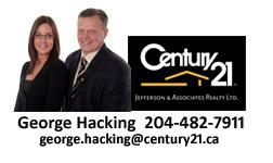 George Hacking Realtor Selkirk