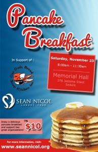 Sean Nicol Legacy Fund Pancake Breakfast