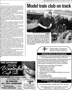 Sean Nicol Legacy Fund 2013 Pancake Breakfast Article