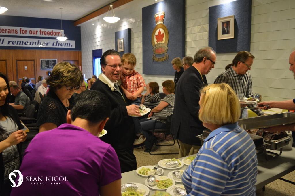 Larry Johannson, Selkirk, Shaw BBQ for Hope