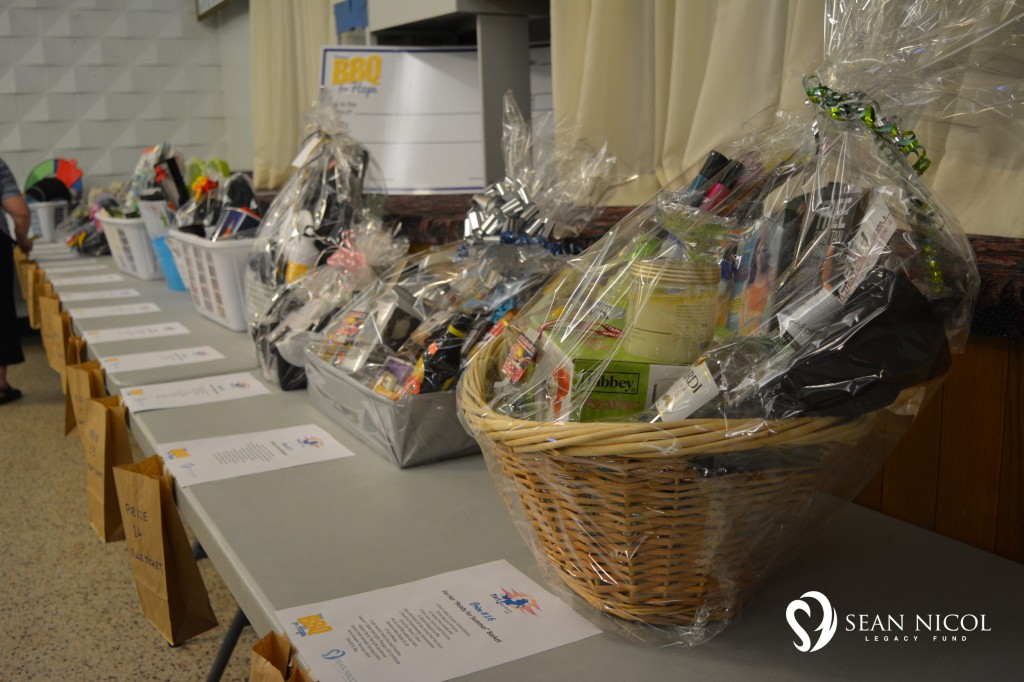 Rainbow Auction Prizes at the Shaw BBQ for Hope