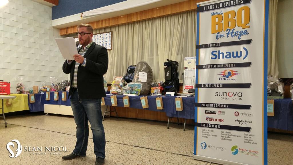 Conor Lloyd - 2016 Shaw BBQ for Hope