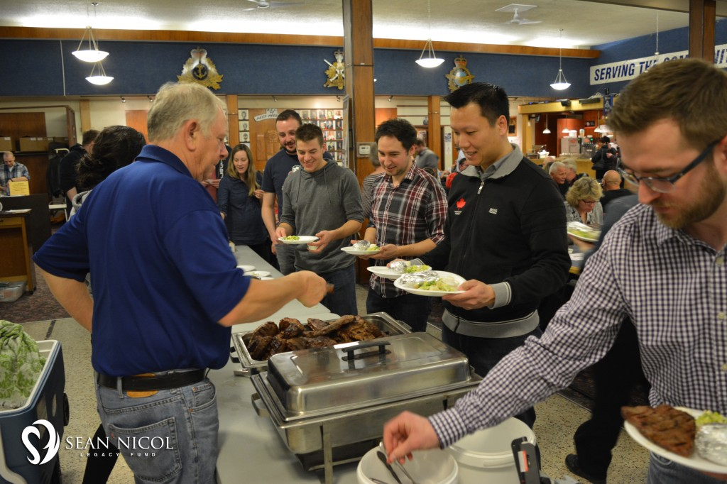 Meal Line at the 2016 Shaw BBQ for Hope